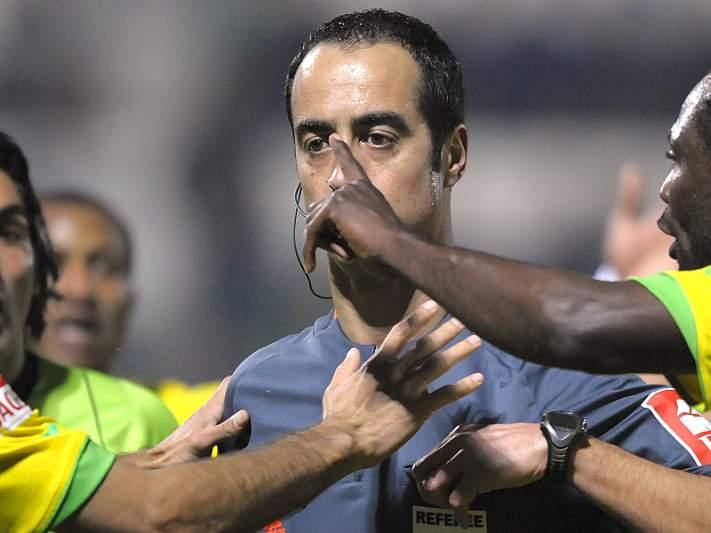 Jorge Sousa arbitra jogo do Real de Mourinho