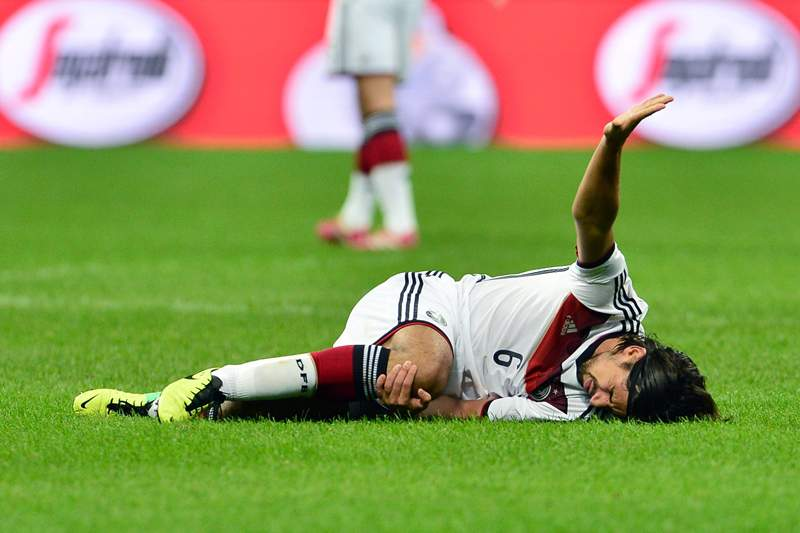 Khedira pode voltar a treinar dentro de duas a três semanas