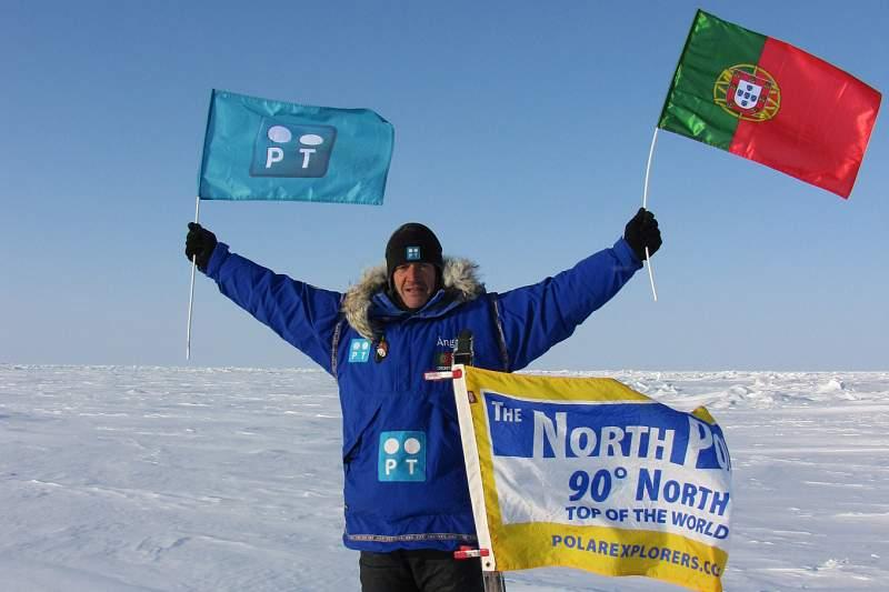 Ângelo Felgueiras levou Portugal ao Polo Norte