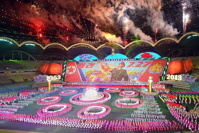 Arranca na Coreia do Norte maior festival de massas do mundo