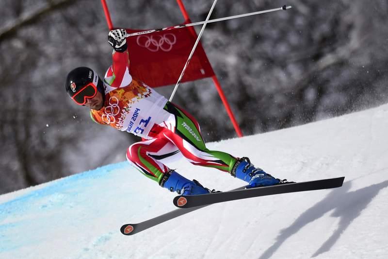 Arthur Hanse não concluiu 2ª manga no slalom gigante