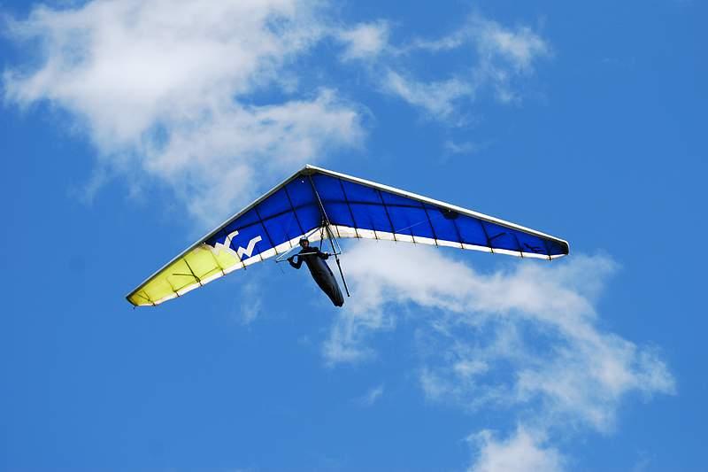 Recorde europeu de asa delta batido a partir de lançamento no Fundão