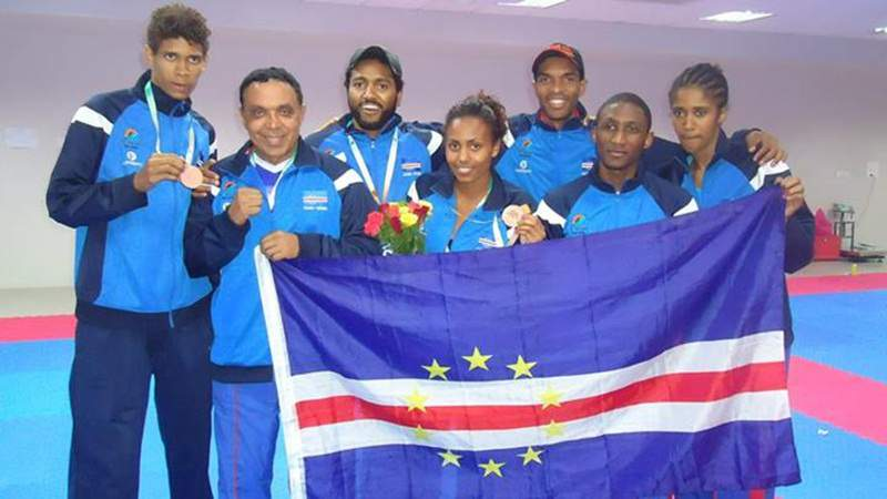 Cabo Verde soma duas medalhas no taekwondo