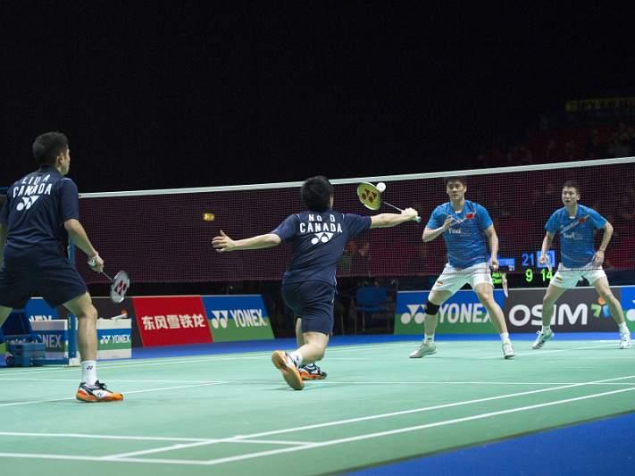 Portugueses do badminton conhecem adversários