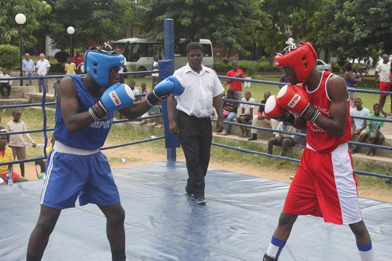 Matchedje vence nacional de boxe