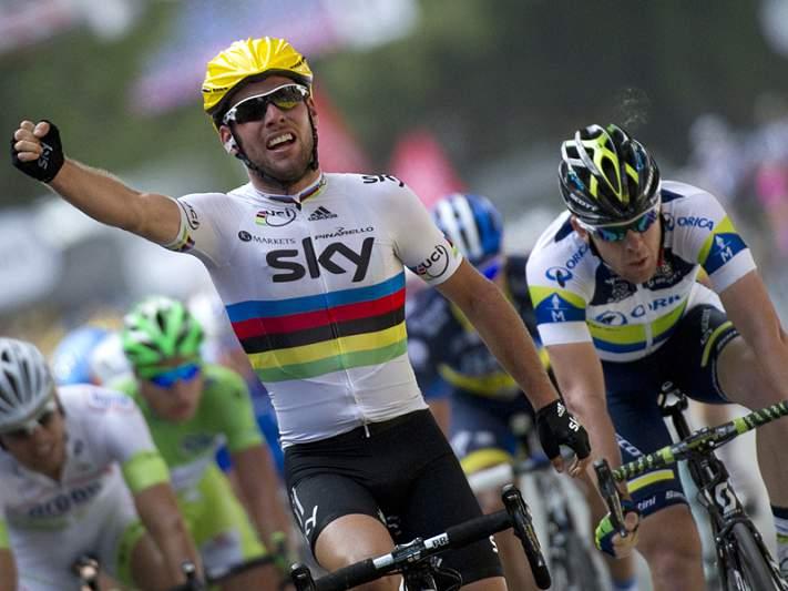 Cavendish 'sprinta' nas apostas