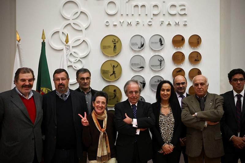 Comité Olímpico de Portugal partilha preocupações com Presidente da República