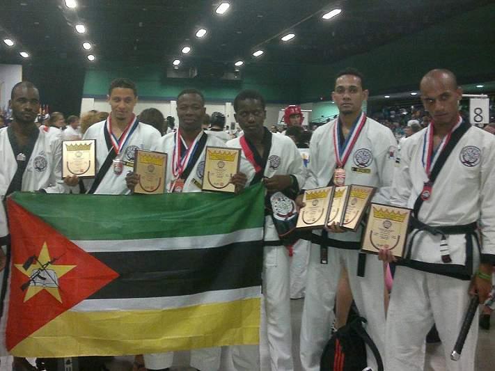 Moçambique ganha 14 medalhas no mundial de Tang Soo Do