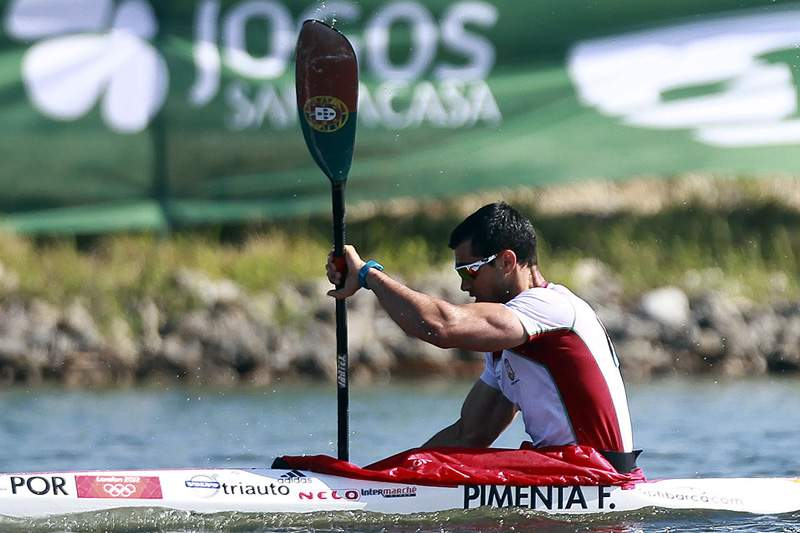 Fernando Pimenta conquista o bronze