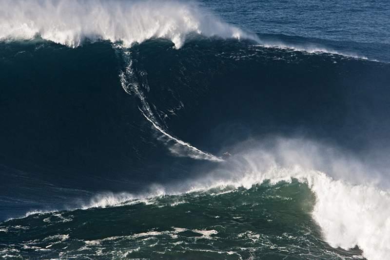 McNamara esclarece que não surfou na Nazaré para apoiar brasileiros