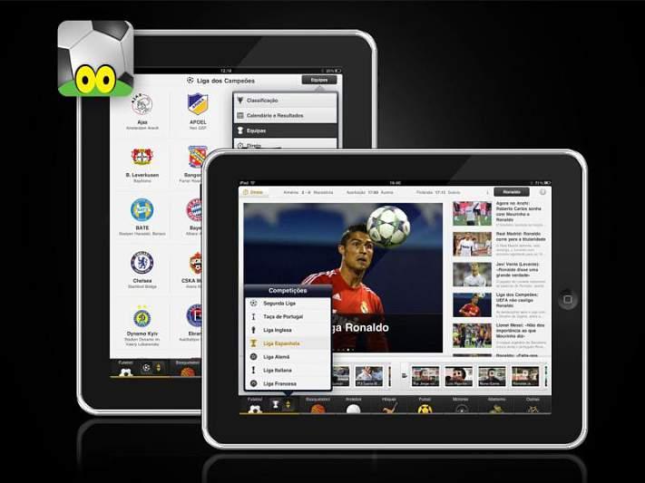 SAPO Desporto já disponível no iPad
