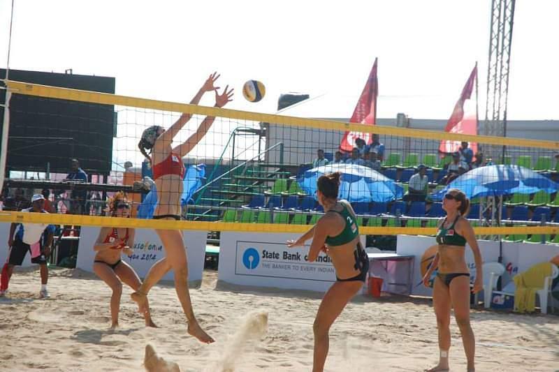 Duas duplas portuguesas nas finais de voleibol de praia