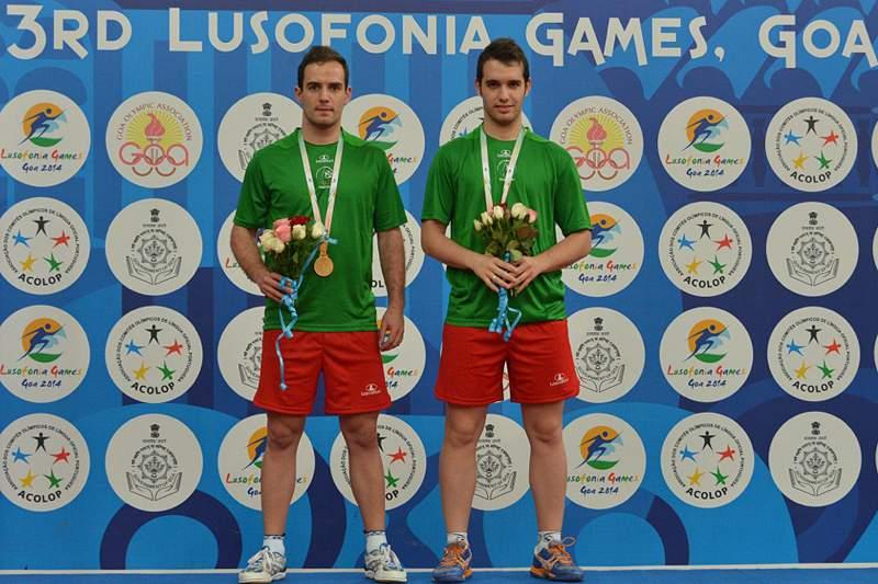 Portugal conquista ouro e prata em ténis de mesa