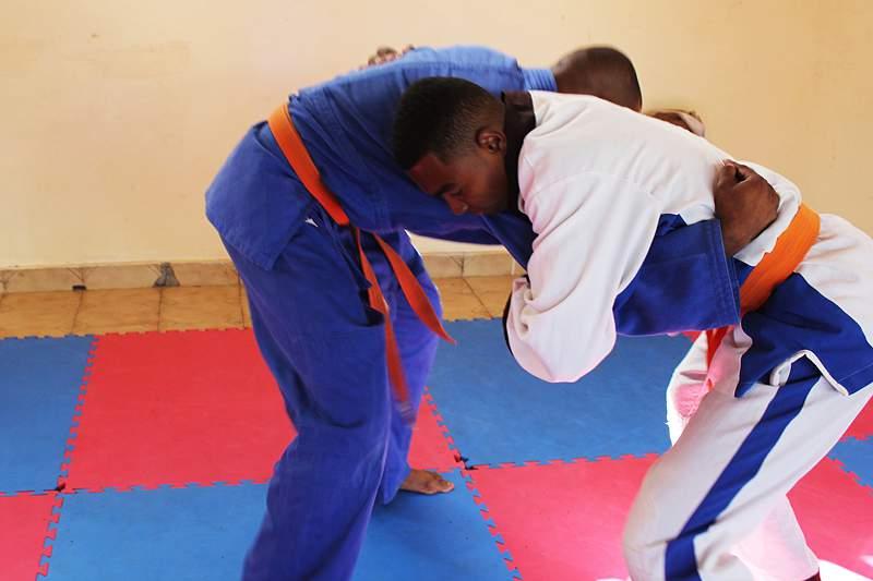 A arte marcial 100 por cento cabo-verdiana