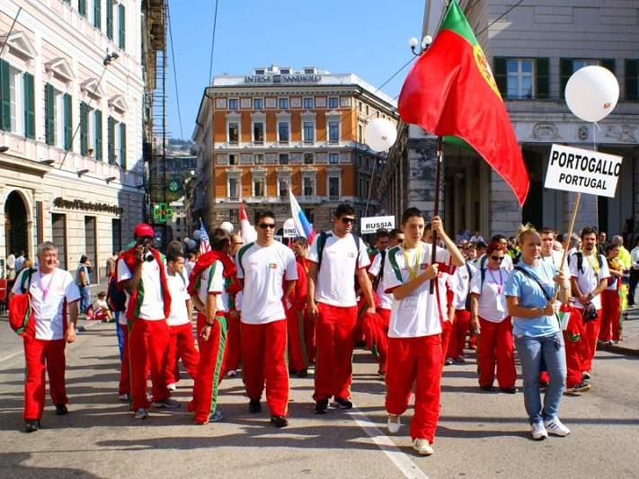 Portugal INAS fecha com 28 medalhas e um segundo lugar