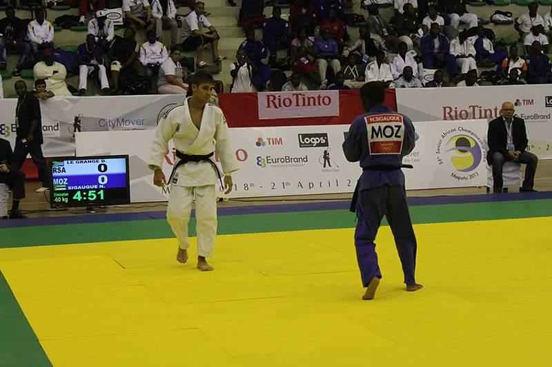 Judocas moçambicanos voltam a desiludir