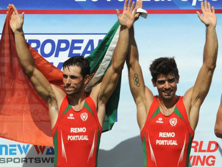 Pedro Fraga e Nuno Mendes nas meias-finais