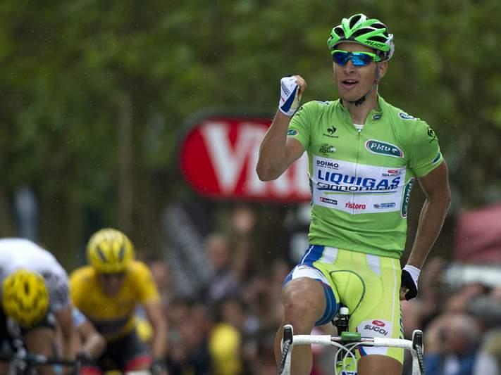 Sagan vence terceira etapa