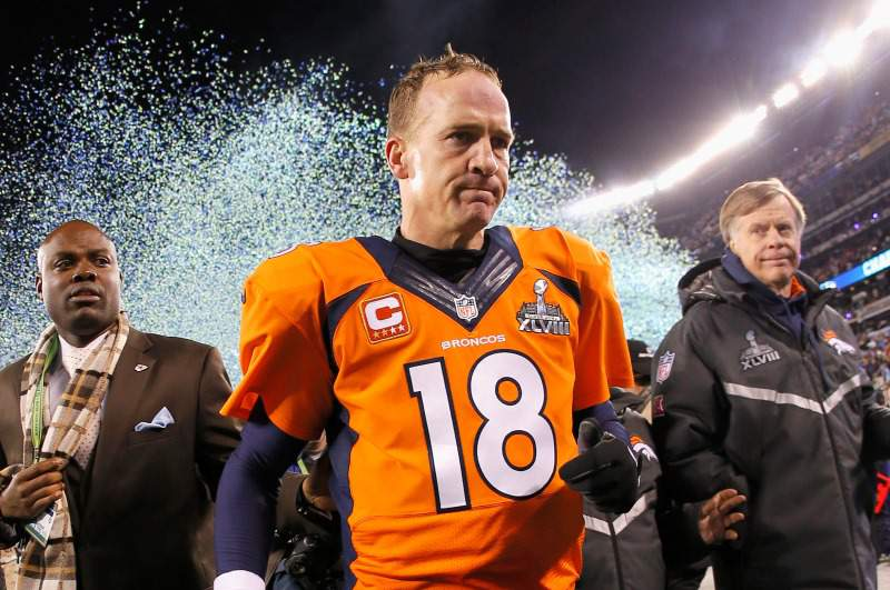 Peyton Manning faz história