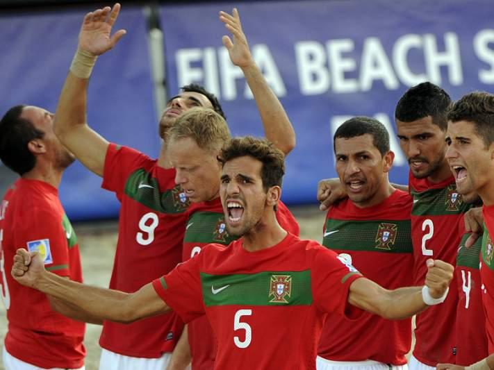 Portugal assegura presença na final frente à Rússia