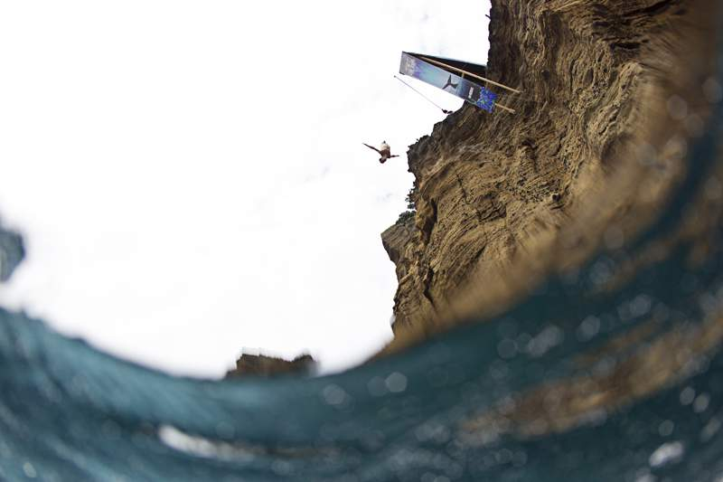 Cliff Diving estreia-se no feminino