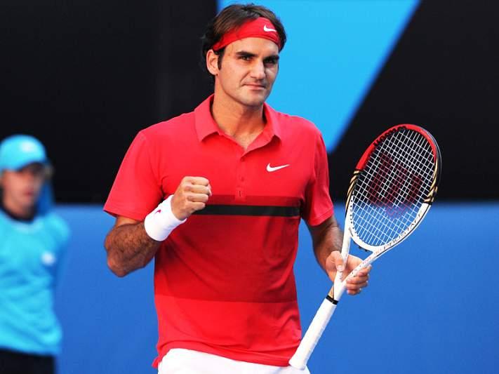 Roger Federer passeia rumo às meias-finais