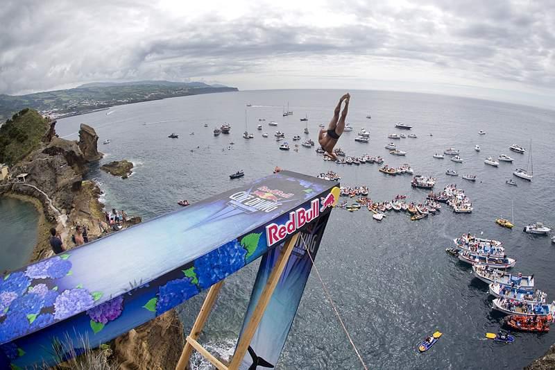 Red Bull Cliff Diving World de volta aos Açores