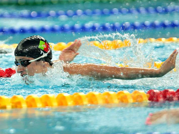 Sara Oliveira eliminada nos 100m mariposa