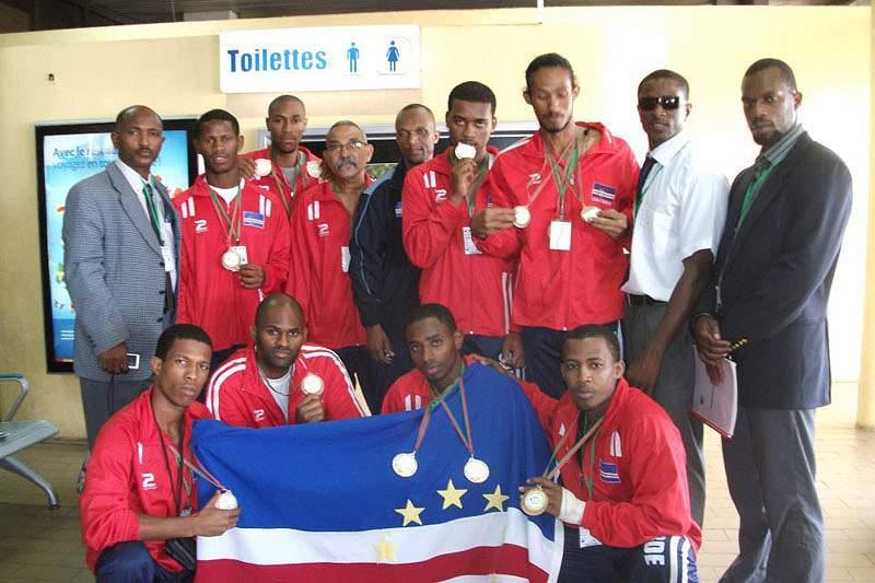 Seleção de São Tomé e Príncipe já está em Cabo Verde