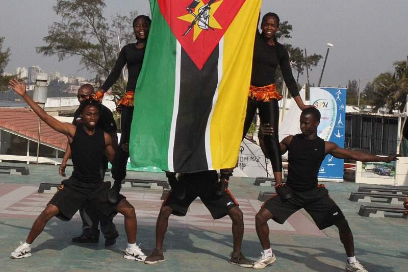 Seleção de Ginástica apresenta coreografia para o Gym For Life