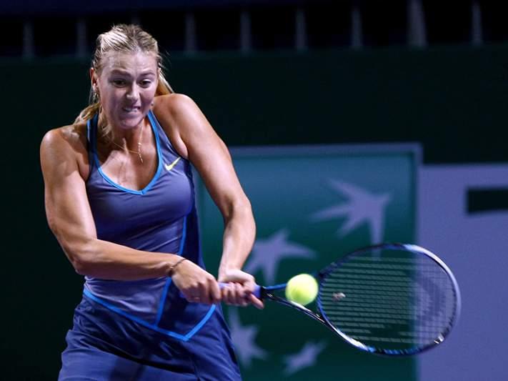 Sharapova eliminada nos oitavos de final