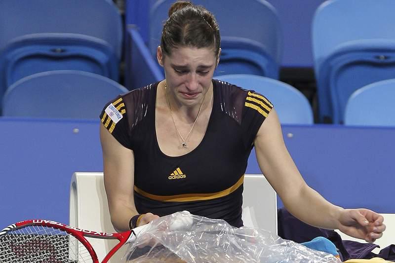 Andrea Petkovic falha Open da Austrália
