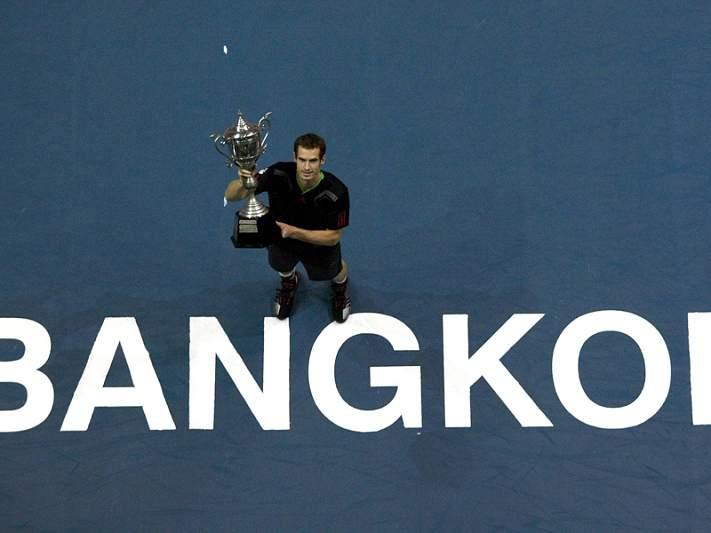 Murray vence torneio de Banguecoque