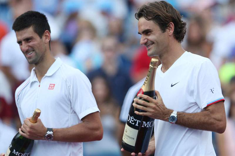 Federer e Djokovic marcam encontro na final