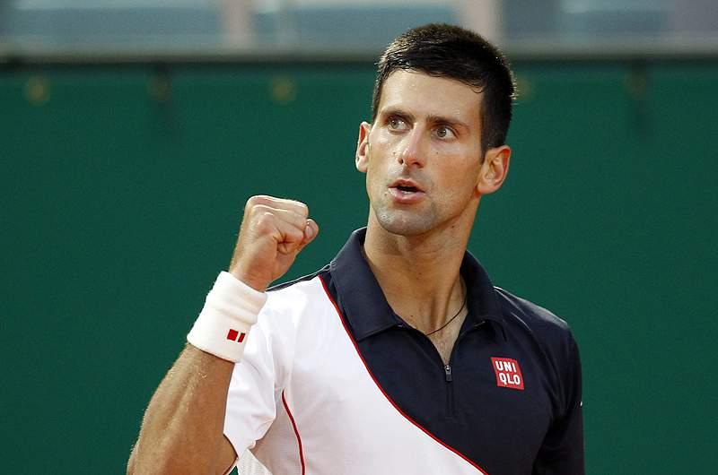 Djokovic aproxima-se de Nadal