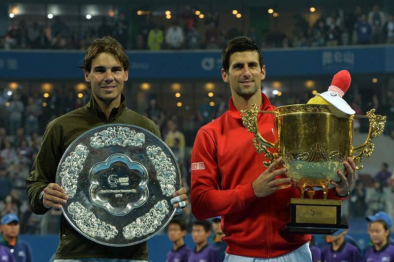 Duelos Nadal-Djokovic foram os melhores de 2013