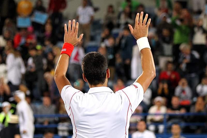 Djokovic faz o