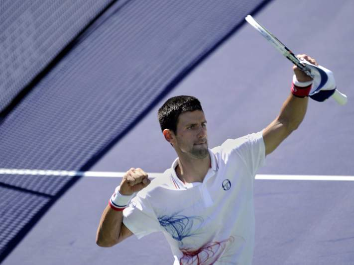Djokovic é o primeiro semi-finalista