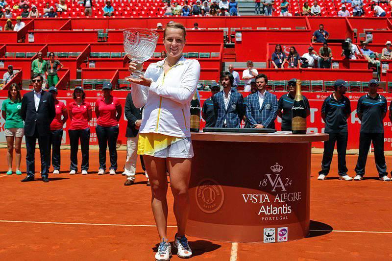 Anastasia Pavlyuchenkova feliz e com vontade de voltar