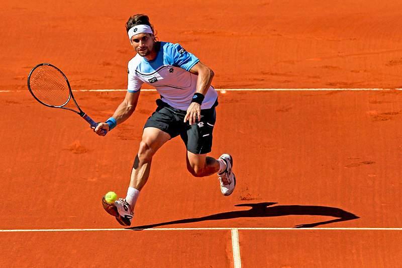 David Ferrer cai na segunda ronda