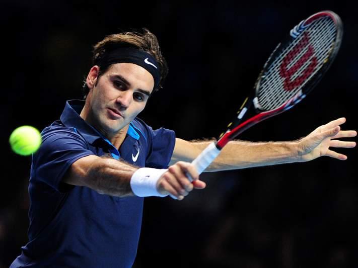Federer cilindrou Nadal