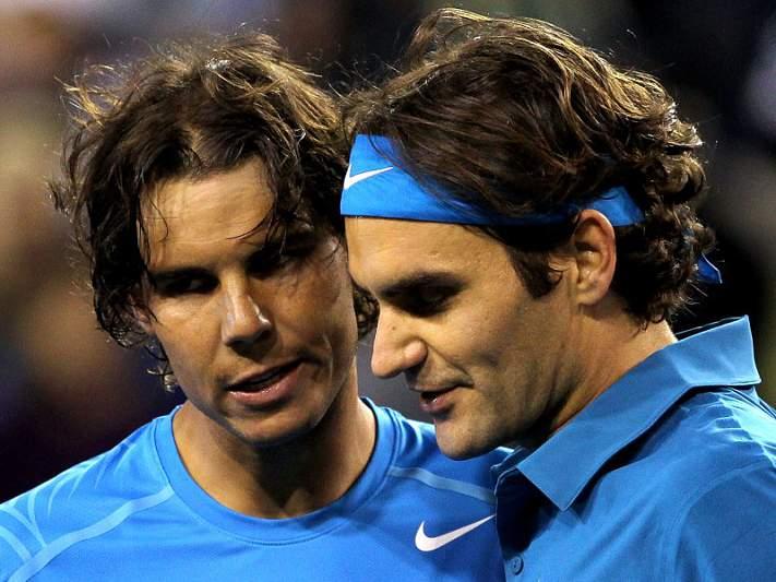 Os dois tenistas são amigos, apesar da rivalidade intensa nos courts