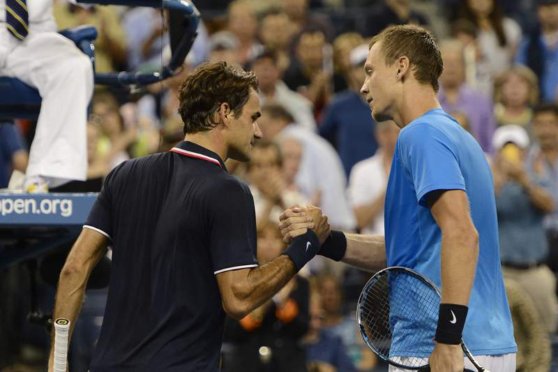 Federer eliminado por Berdych