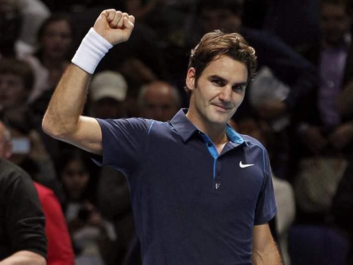 Federer conquistador em Londres