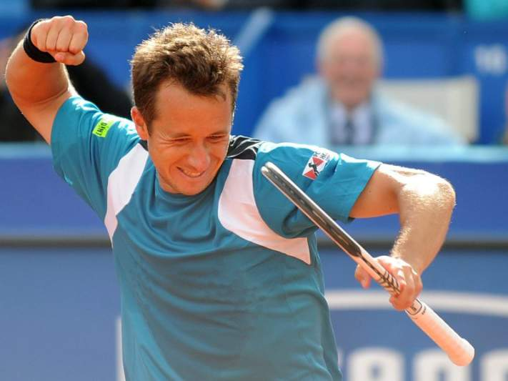 Kohlschreiber vence torneio de ténis de Dusseldorf