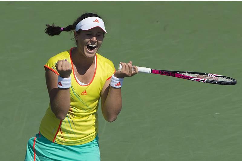 Laura Robson é a primeira finalista britânica num WTA em 22 anos