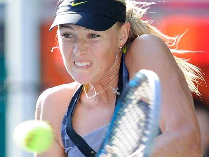 Sharapova na final de Roland Garros