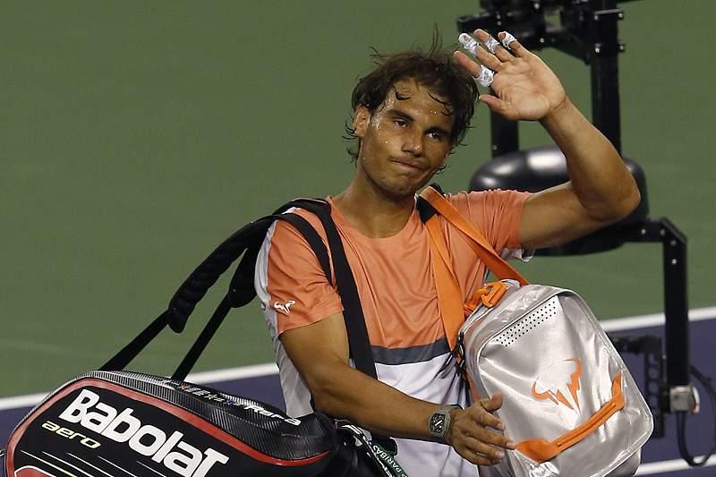 Nadal e Sharapova eliminados em Indian Wells