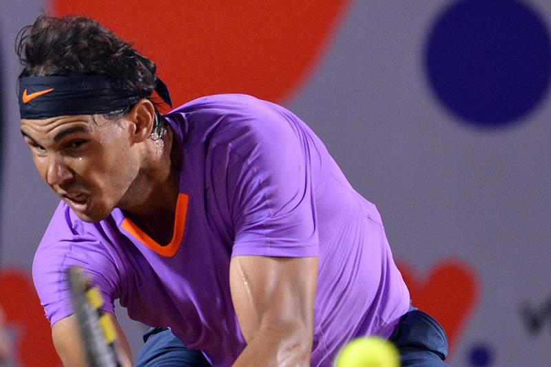 Rafael Nadal apura-se para a final de Acapulco