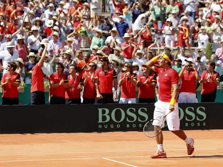 Nadal abdica da Taça Davis em 2012